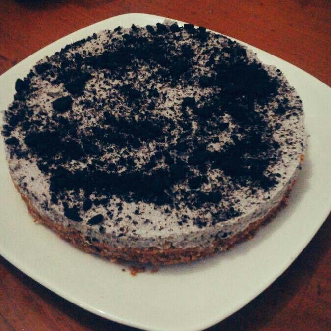 Unbaked Oreo Cheesecake