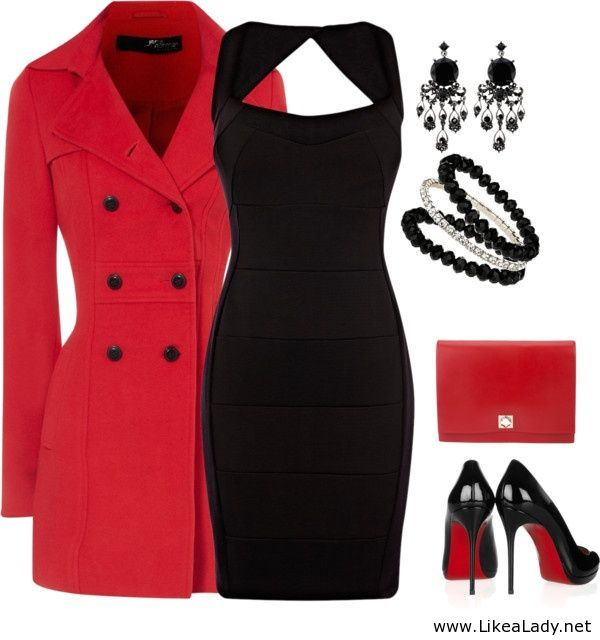 Classic outfit for a lady
