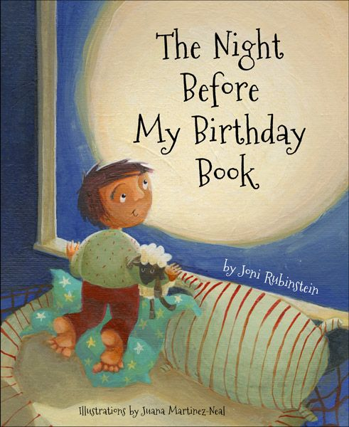 The Night Before My Birthday Book  is a magical poem read to children on the night before their birthday. It captures the feelings of children as they are tucked into bed, full of anticipation with dreams of waking up a brand new age. This beautifully illustrated hardcover book is a family  tradition, a celebration and a keepsake.