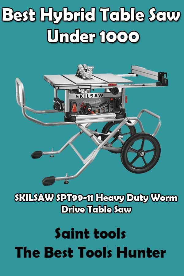 Best Hybrid Table Saw Under 1000 Reviews And Ultimate Buying Guide 2020 With Images Hybrid Table Saw Table Saw Best Table Saw