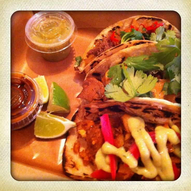 From Maïs in the Mile End (Montreal) - tacos!