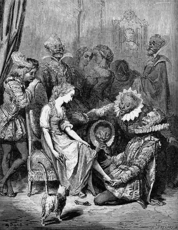 Cendrillon, by Gustave Dore