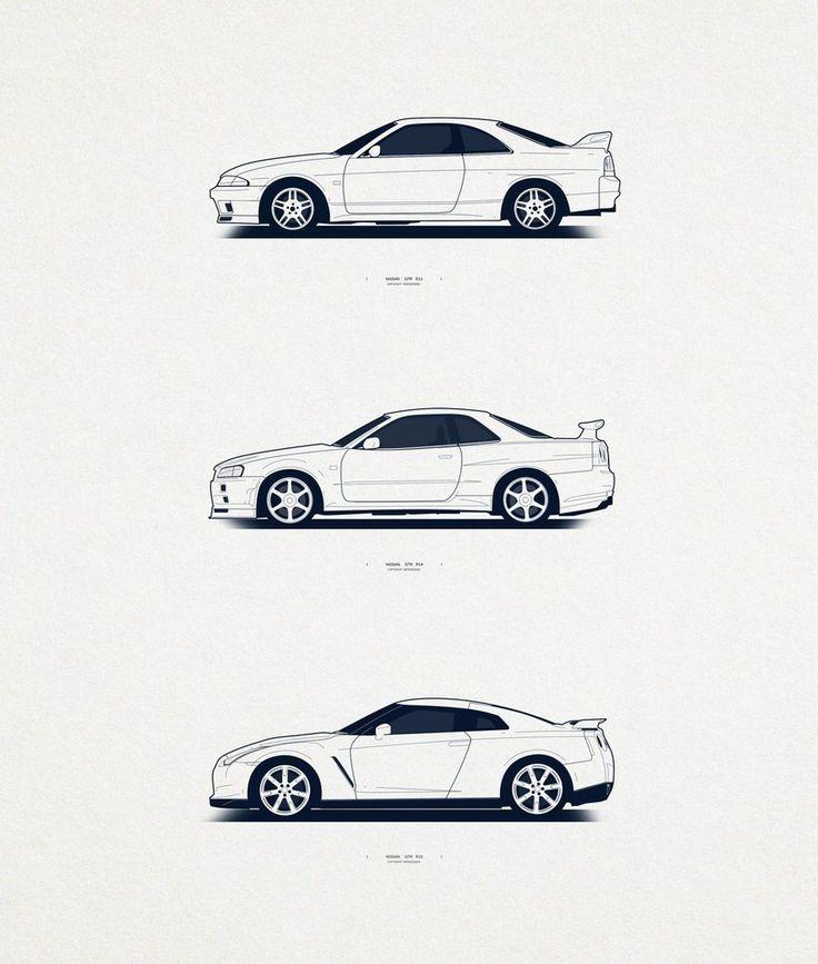 Nissan Skyline All Generations: 17 Best Ideas About Nissan R33 On Pinterest