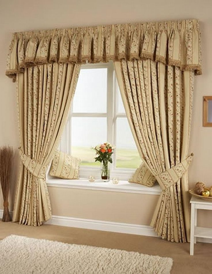 Luxury Living Room Curtains For Design Ideas 2013 With Window Seat