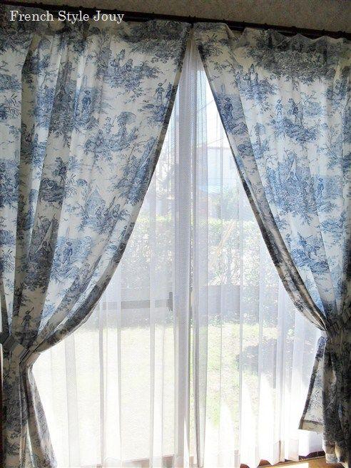 histoire d 39 eau tissus toile de jouy thevenon 10. Black Bedroom Furniture Sets. Home Design Ideas