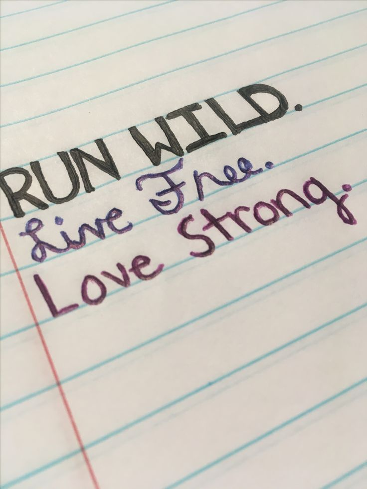 Run Wild. For KING & COUNTRY