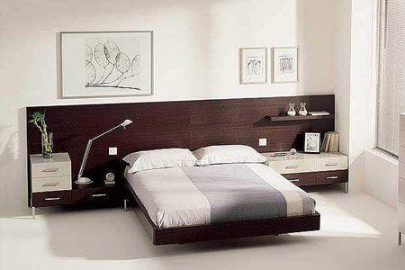 Aprovechar el espacio en los Respaldos de cama y ahorrate espacio al estilo Stanza
