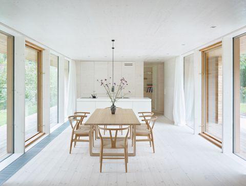 A contrast to city life - villa on Scharmützelsee by Doris Schäffler   Architecture at Stylepark