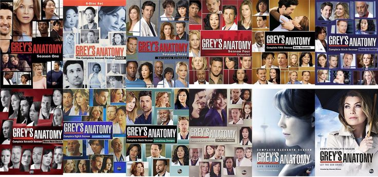 Grey's Anatomy Seasons 1-12 (DVD)