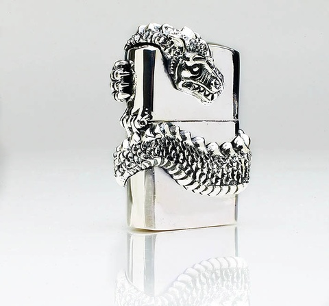 King Baby Studio Dragon Lighter - Sterling Silver