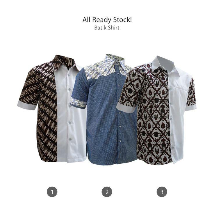 All Ready Stock Batik Shirt  #kemejabatikmedogh  http://medogh.com/baju-batik-pria/kemeja-batik-pria