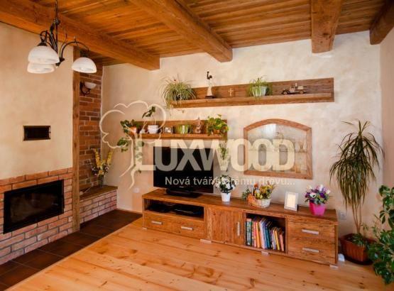 staré dřevo-interiér