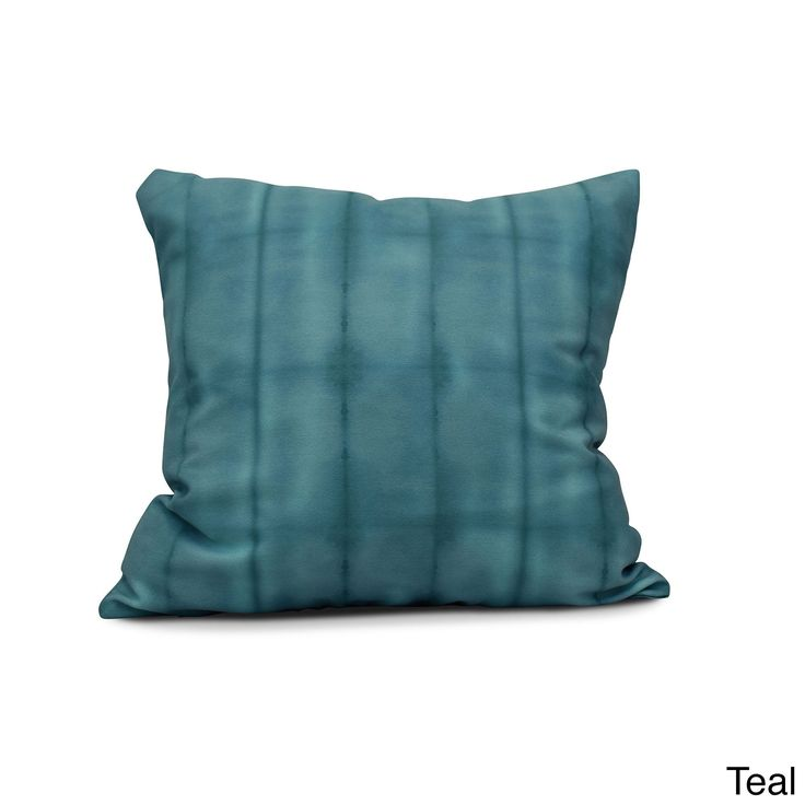 E by Design 20-inch Pool Stripe Print Pillow