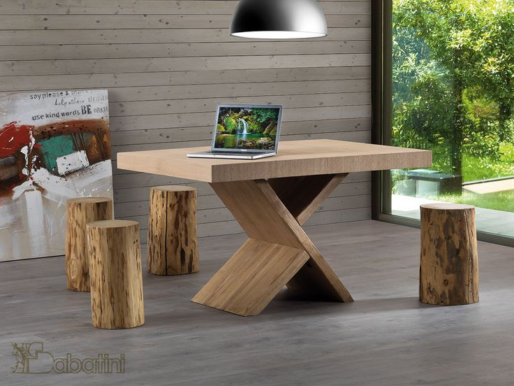 Tavolo allungabile in Rovere Art.5541 | Sedie e Tavoli  #interiordesign #arredamento #sedieetavoli #arredamentointerni #homedesign #tavoloallungabile #arredamentomoderno