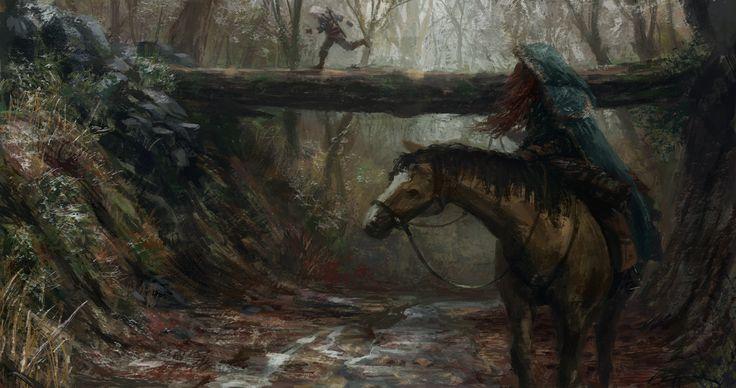 ArtStation - Blood of Elves, Michał Rychtyk