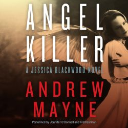 """Andrew Mayne fans! Her """"Angel Killer"""" (A Jessica Blackwood Novel, Book 1) was recently published in audio. Sample it here: http://amblingbooks.com/books/view/angel_killer"""