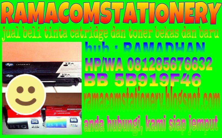 jual beli tinta catridge dan toner laserjet bekas dan baru: Jual beli tinta cartridge canon 810 - 811