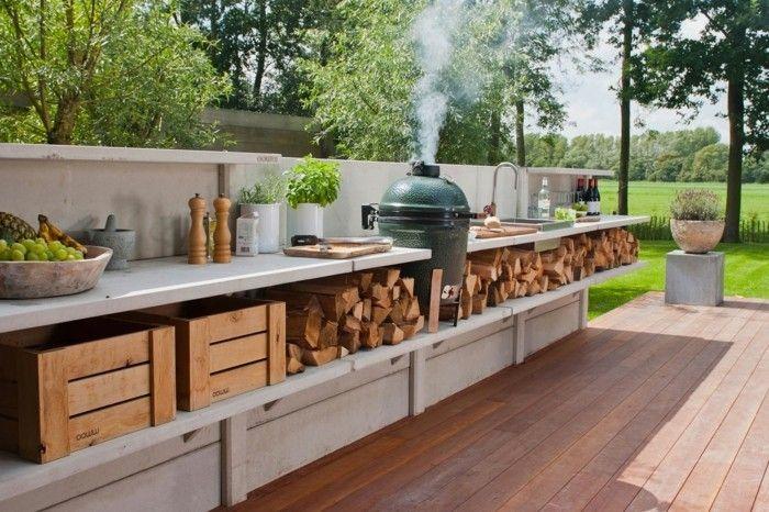 Outdoor Küche macht es möglich, köstliches Essen draußen zu genießen outdoorkitchens  ...