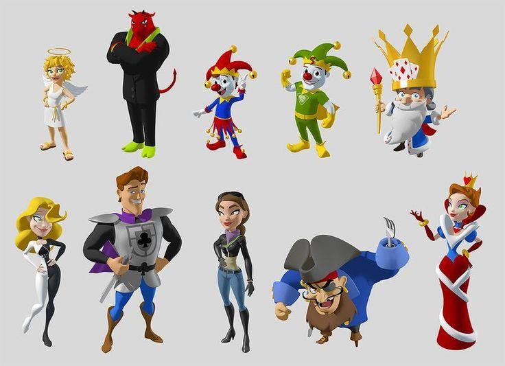 3d Character Design In Illustrator : D modelling character design illustration by andrew