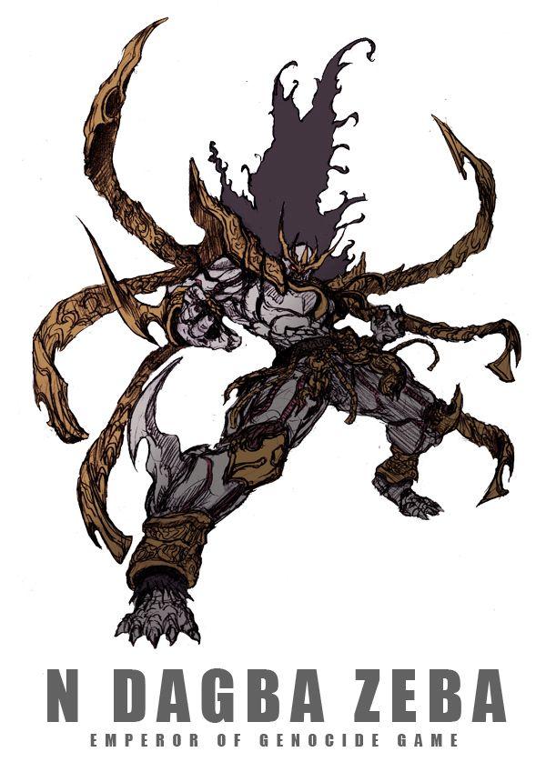 ン・ダグバ・ゼバEMPEROR OF GENOCIDE GAME by zakkizaki