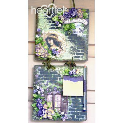 Gallery | Classic Rose Decoupage Wall Decor - Heartfelt Creations