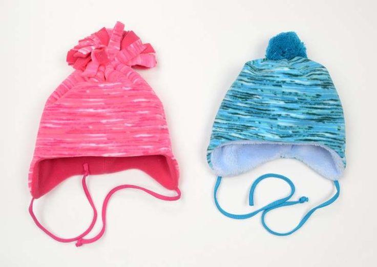 Slušivá moderní čepice na zimu od českého výrobce čepic Spark.  #děti #móda #oblečení #dětské oblečení #dětské čepice #zima