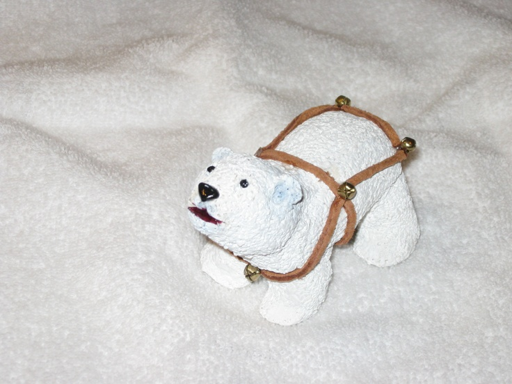 Polar bear by Barb.  Made with Sculpy.