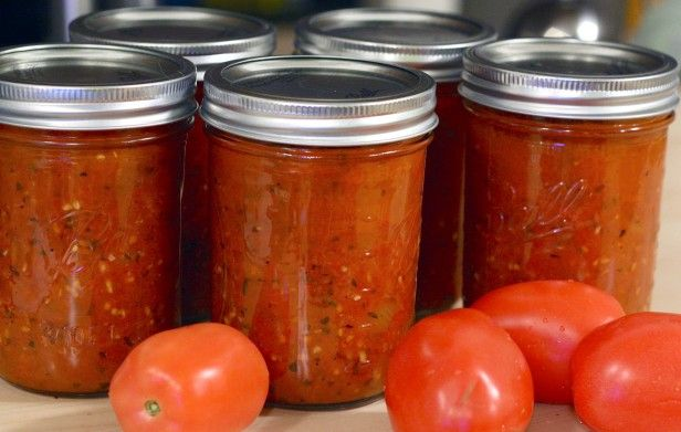 How to Can Spaghetti Sauce - from HGTV