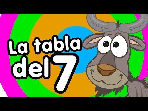 Tabla del 7 cantada - Canciones Infantiles - Canciones para niños -Doremila - YouTube