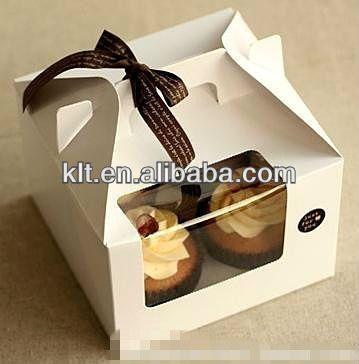 Cupcake box/gift wedding sweet box/cake boxes wholesale $0.05~$0.65
