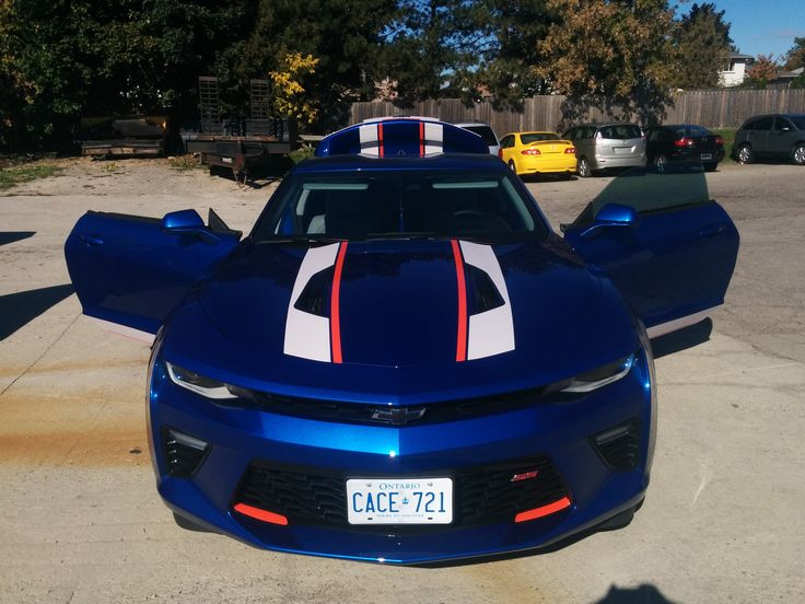 Custom Camaro Stipes | Design, Print & Install by Side Effects Graphics