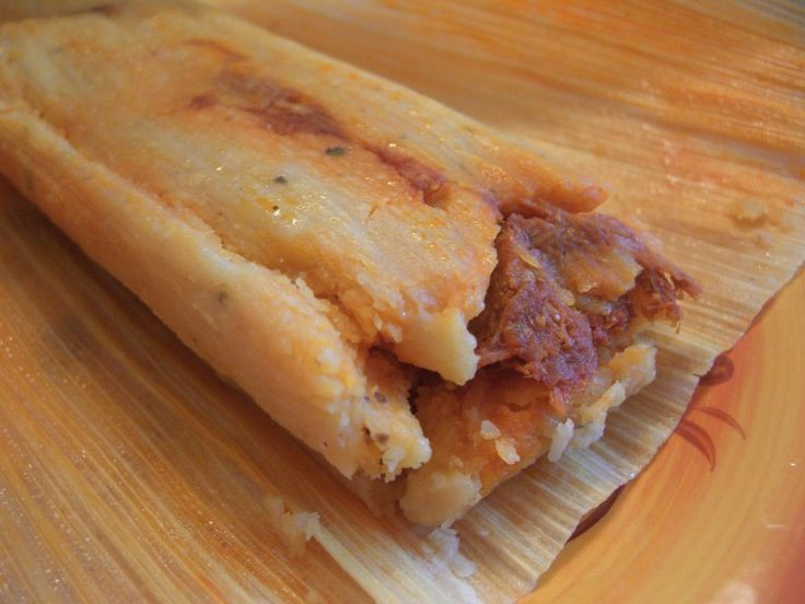 Chicken tamales from tamales ancira in chula vista ca in