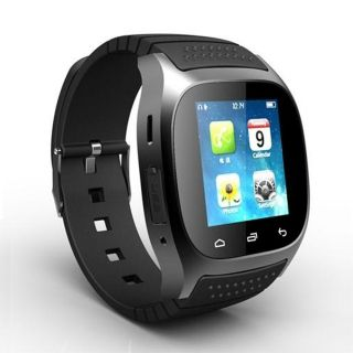 M26 Stylish Touch Screen Smart Bluetooth Bracelet Watch Black