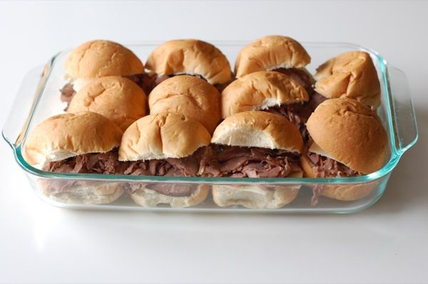 Roast Beef and Swiss Sliders