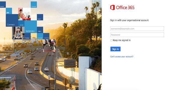Office 365 Outlook Login