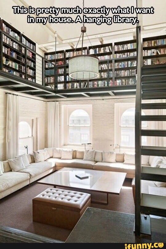 One day I will have a library in my home