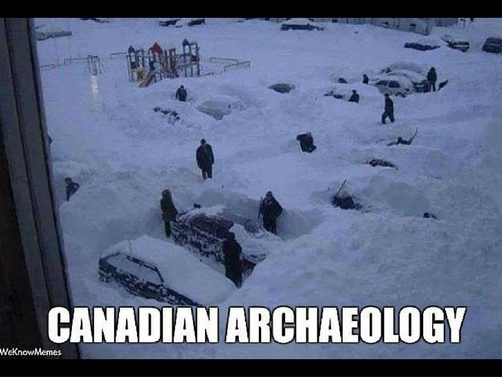 a parking lot in winter - Check out some of the best Canadian memes that the internet has to offer.