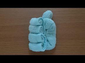 How to Make a Towel Bag おしぼりバッグのつくり方 - YouTube