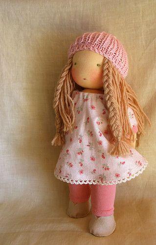 sweet doll, love her hair
