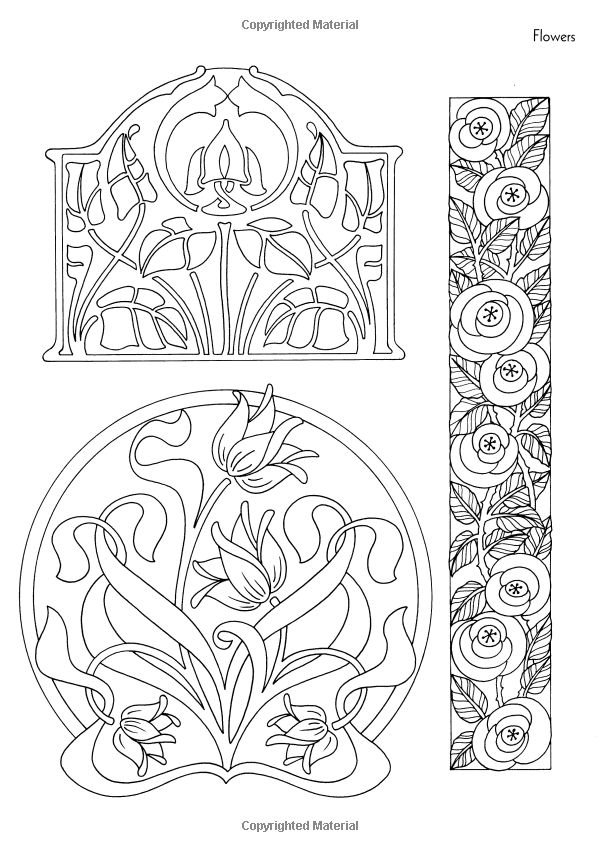 Artists Colouring Book Art Nouveau : 62 best colorarte terapia images on pinterest