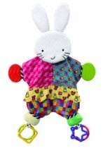 Amazing Baby: Blanket Teether Bunny by Kids Preferred