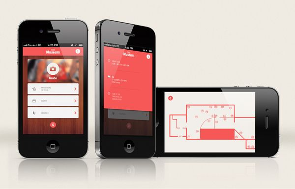 Going on a tour...Let's go to Museum..Simply using Museum App on App Design Served