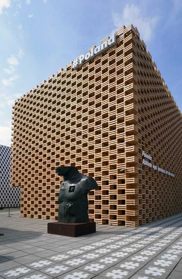Laminam for Poland Pavilion at Expo Milano 2015