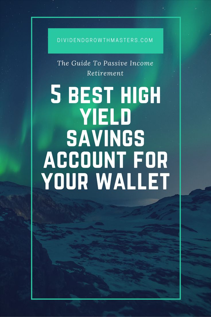 Tired of low interest rates on your traditional banking account? Well, you can easily earn 10x the interest rate with a high yield savings account! Click through to see the best high yield savings accounts for 2018. The list includes: Synchrony Financial, CIT Bank, Barclays, Marcus by Goldman Sachs, and Ally Bank! Dividend Growth Masters: Your guide to passive income retirement! Start your personal finance journey today and retire earlier!
