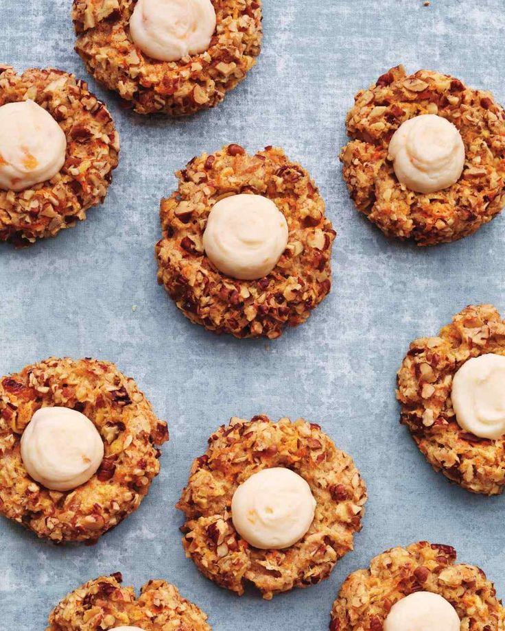 Carrot-Cake Thumbprint Cookies