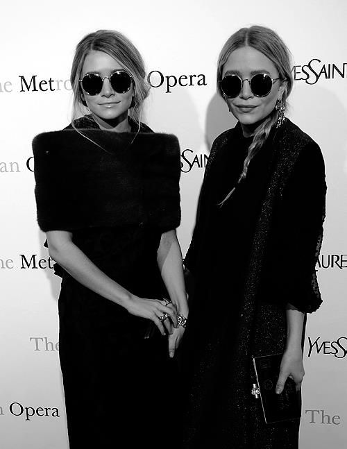 Mary Kate and Ashley Olsen. They're so chic it's insane.
