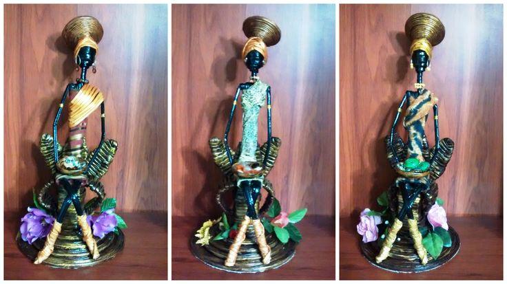 Reinas Africanas   Elaboradas con material de reciclaje Solicítalas a través del correo electrónico : creacionesheimar@gmail.com  Siguenos en nuestras redes: Instagram: @creaheimar Twitter: @CreaHeimar Facebook: Heidy Marchena (Creaciones Heimar) Blog: http://creacionesheimar.blogspot.com/