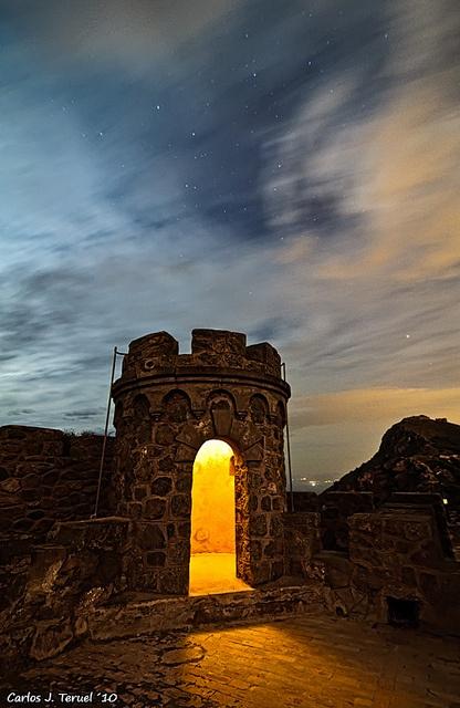 The light within an entrance - Murcia, Spain
