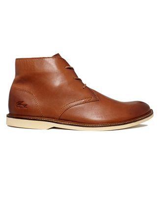 Lacoste Shoes, Sherbrooke Hi 5 Boots - Boots - Men - Macy's