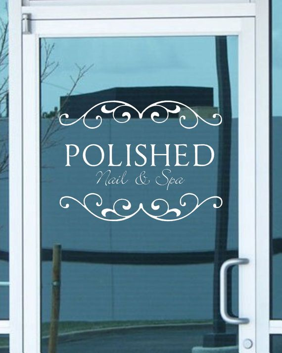 7 best sign images on Pinterest | Vinyl decals, Glass display ...